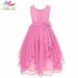 Sleeveless  Kids Dress TUTU Clothing Chiffon Wedding Party Dresses For Girl
