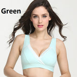 Cotton Cross with Lace Nursing Bra - One Size