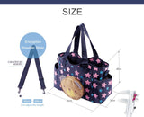 3pcs/set Nylon Waterproof Baby Diaper Bag Multifunctional Large Capacity Overnight Mommy