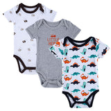 Cute Baby Rompers Newborn Clothes Short Sleeve Cotton Baby Boy Girl Baby Clothing