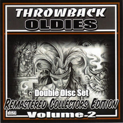 THROWBACK OLDIES VOLUME 1,2,3,4,5
