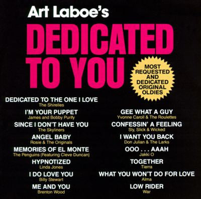 Dedicated To You VOL. 1,2