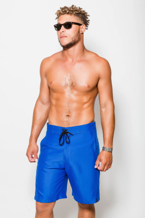 "Mens Nate 21"" Classic Blue Boardshorts"