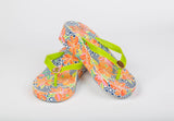Caribbean Wedge Slipper