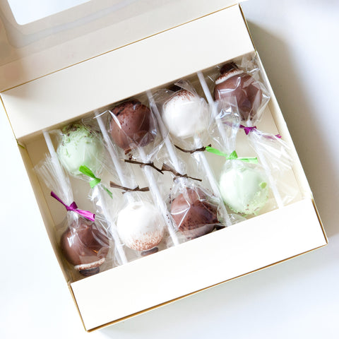 Gift Box of 8 After Dark Cake Pops