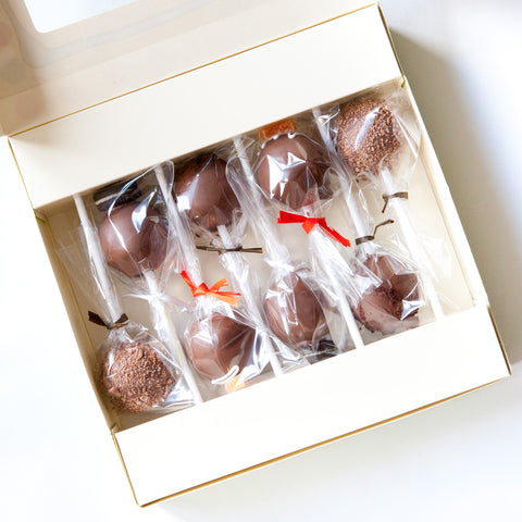 Gift Box of 8 Personalised Thank You Cake Pops