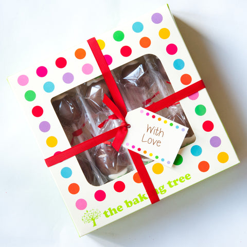 Gift Box of 8 Valentine's Cake Pops