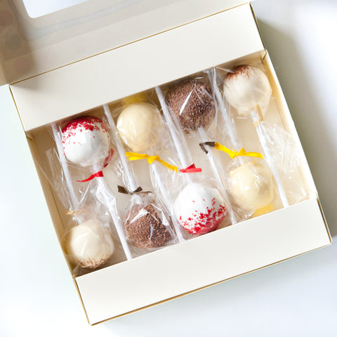 Gift Box of 8 Best Selling Cake Pops