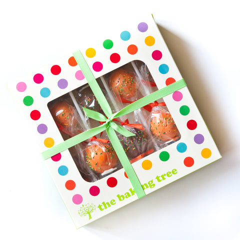Gift Box of 8 Halloween Cake Pops