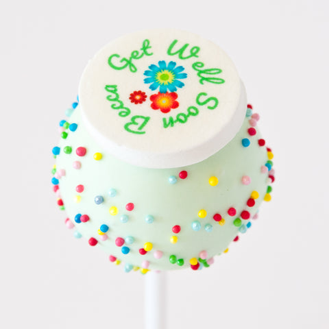 Gift Box of 8 Personalised Get Well Soon Cake Pops