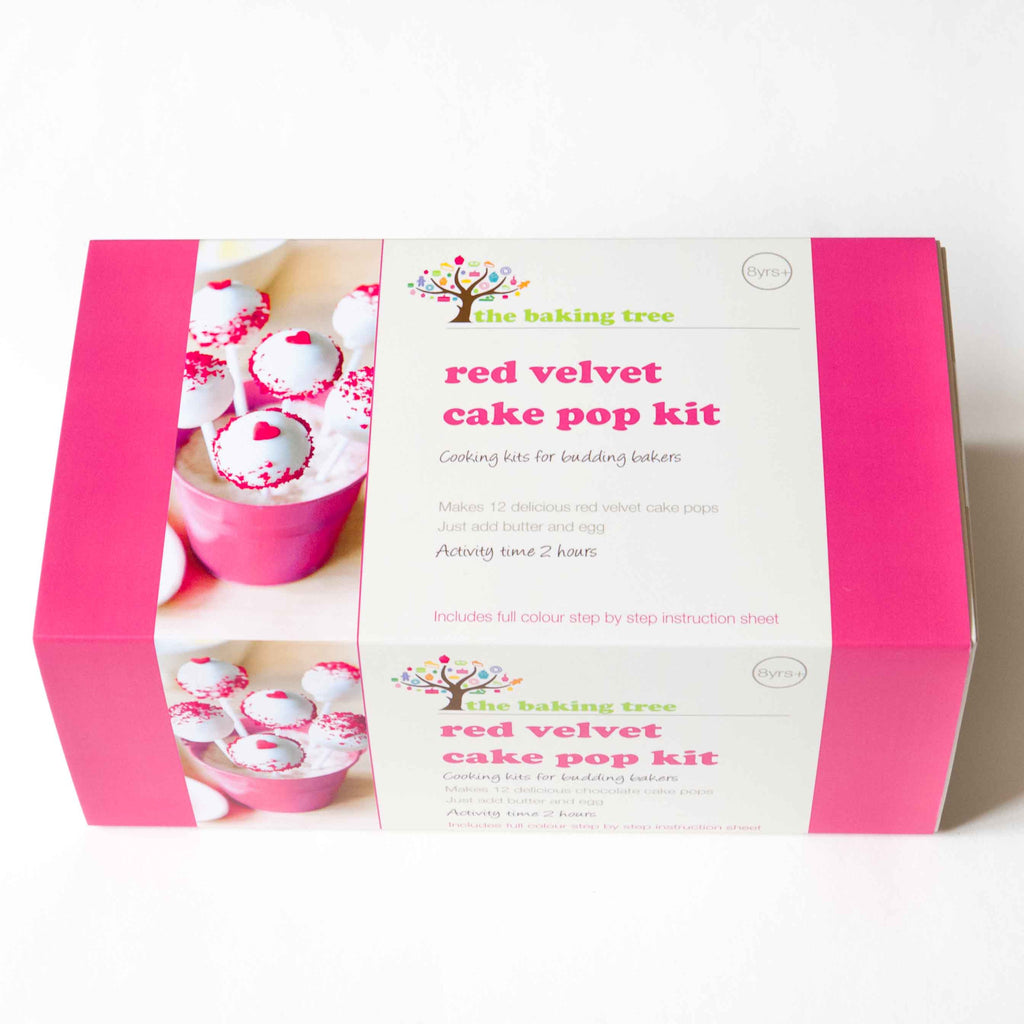 Red Velvet Cake Pop Kit