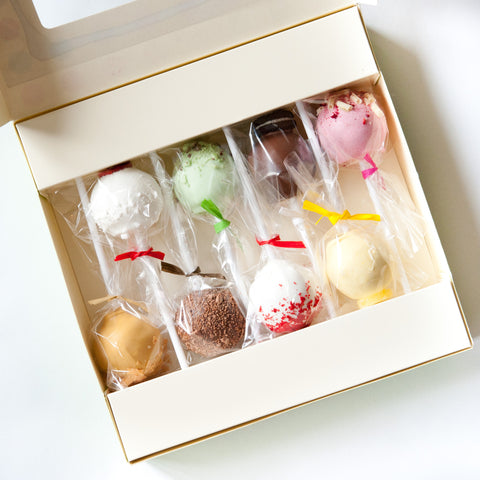 Gift Box of 8 The Ultimate Selection Cake Pops