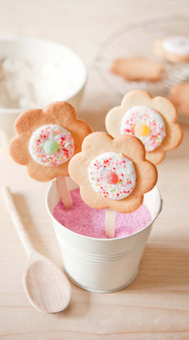 Flower Pop Cookie Baking Kit