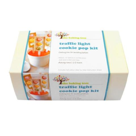 Traffic Light Cookie Pop Baking Kit