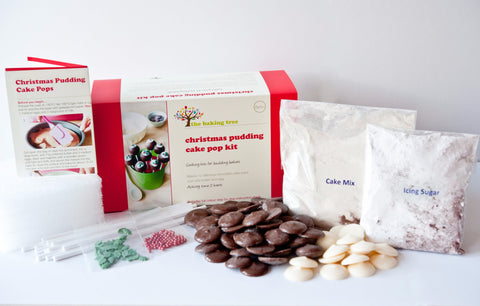 Christmas Pudding Cake Pop Kit