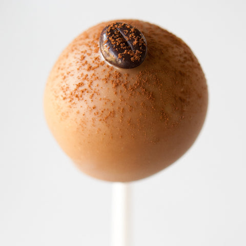 Cafe Latte Cake Pop