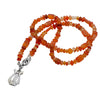 David's Harp Carnelian Necklace.