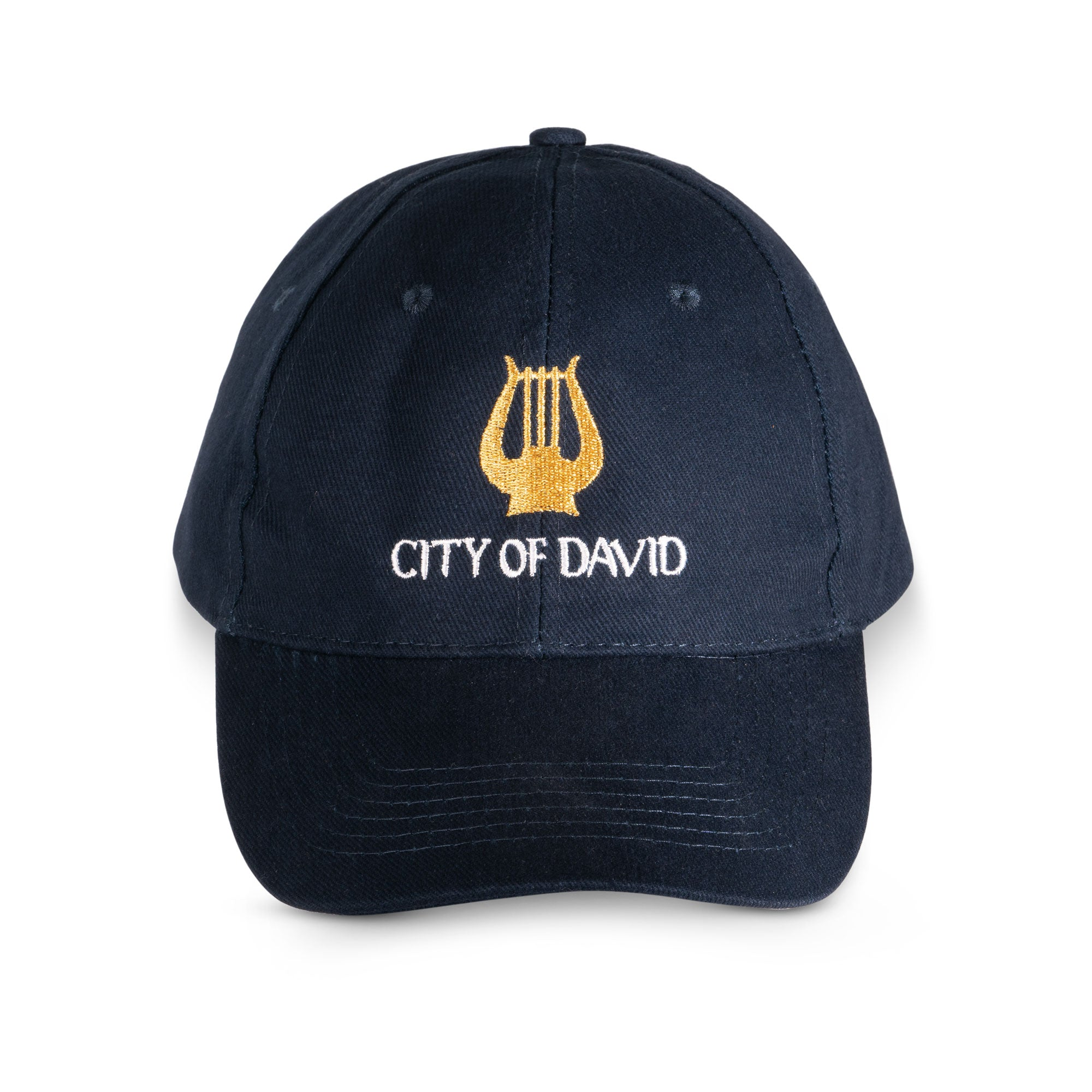 City of David black baseball cap