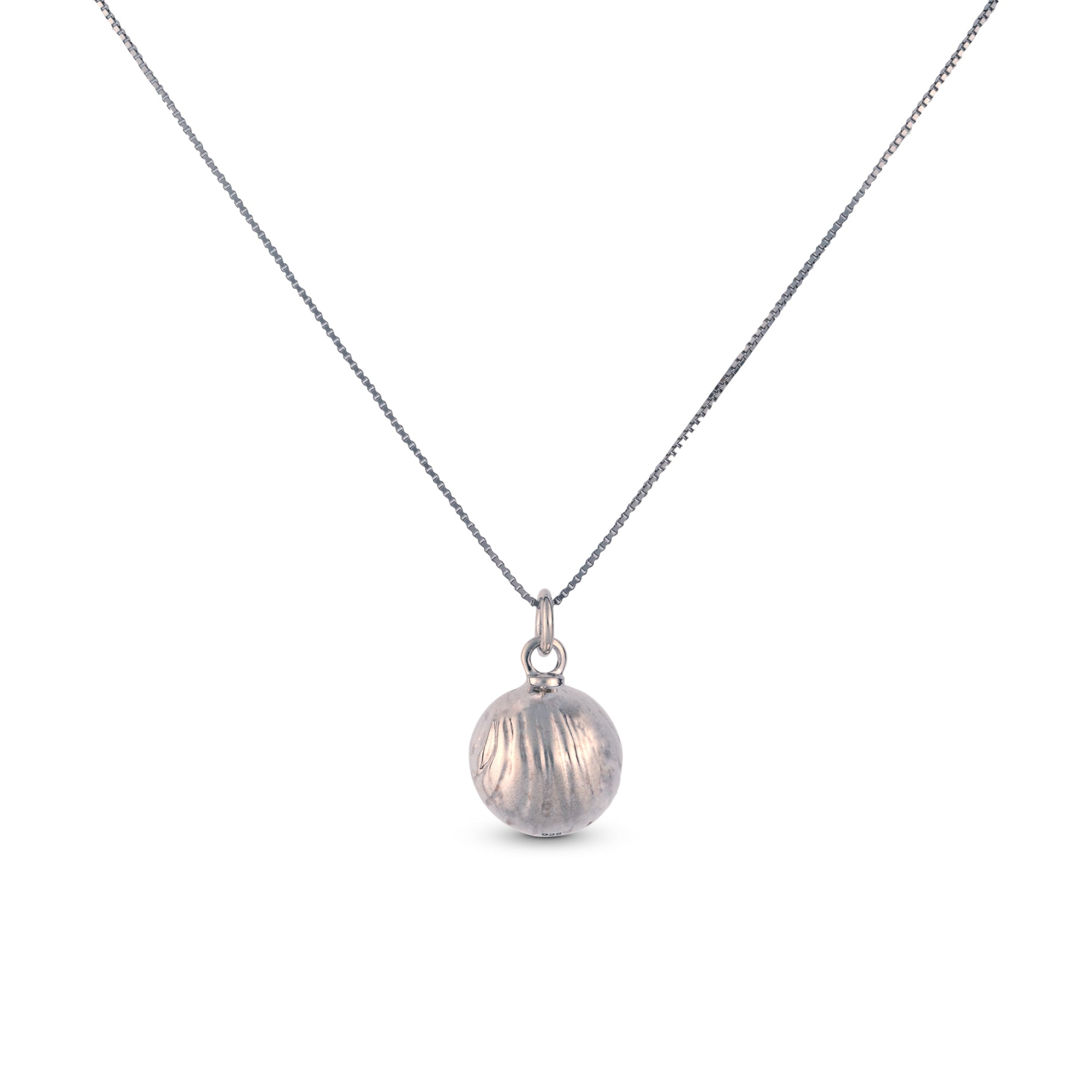 SILVER  Golden Bell Necklace