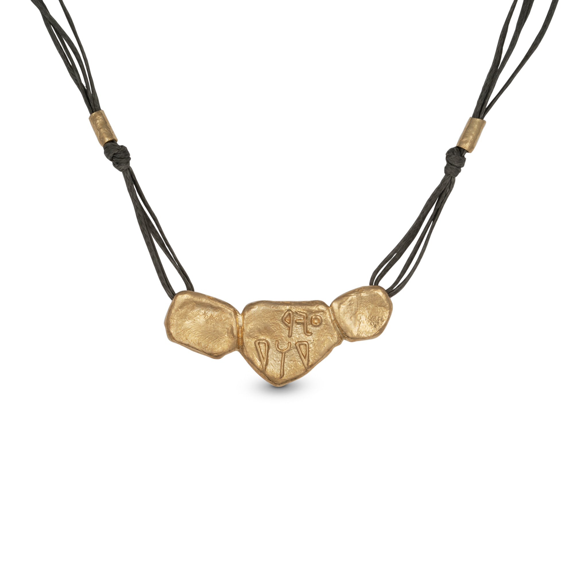PURE TO GOD NECKLACE WITH LEATHER