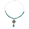 Freedom of Zion Turquoise Necklace