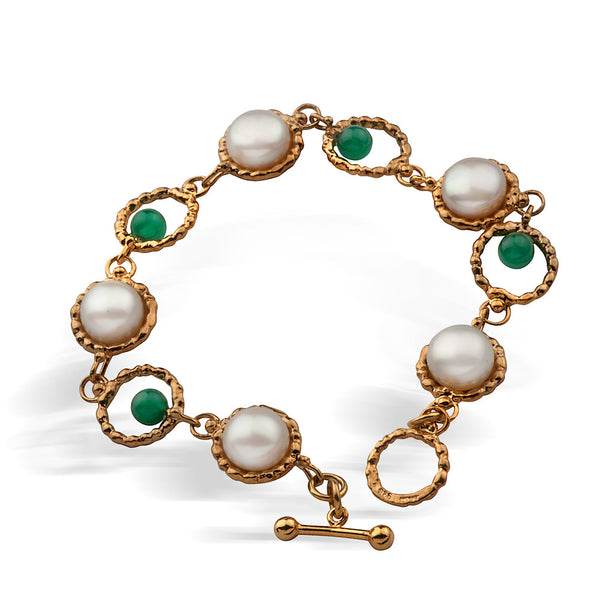 Queen Helene Gold Plated Bracelet