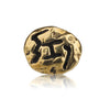 Ancient Hebrew 'Good Fortune' Lapel Pin.