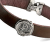 Men's Pure for God Leather Bracelet