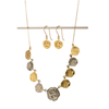 Buy a Pure for God Nine Coin Necklace and Receive Matching Earrings