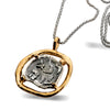 Pure for God Coin Silver Necklace