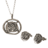 Buy a Pure for God Silver Necklace and Receive Complementary Studs