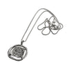 Pure for God Silver Coin Necklace