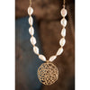 Golden Eternity Pearl Necklace