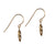 Pure for God Gold Plated Earrings
