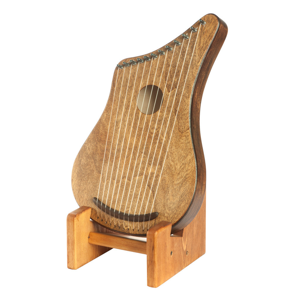 Hand-Crafted Wooden Harp