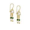 Queen Helene Gold Plated Dangling Earrings