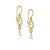 Royal Capital Drop Earrings