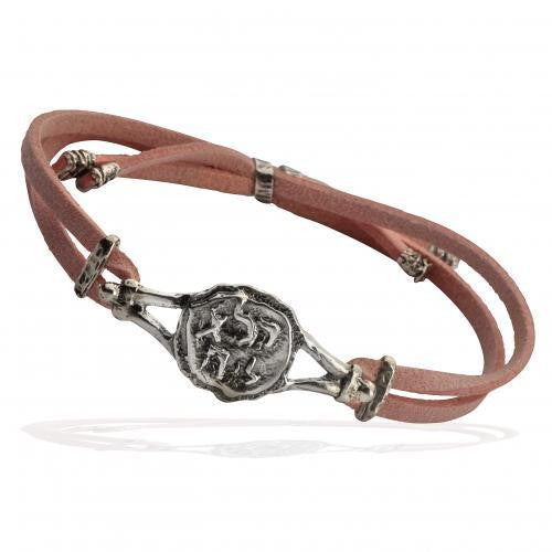 Pure for God Leather Bracelet