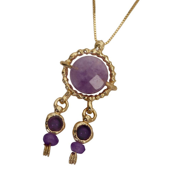 Queen Helene Purple Amethyst Necklace