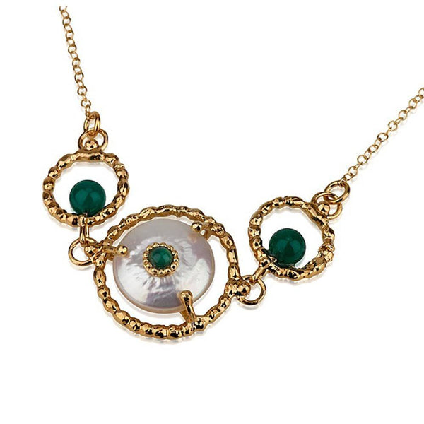 Queen Helene Trio Pendant Necklace