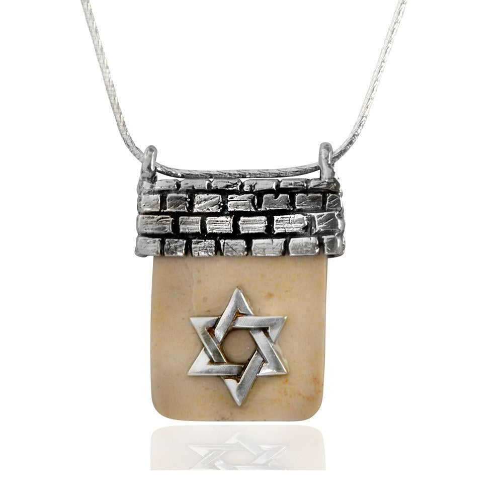 Star Of David Temple Mount Necklace