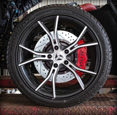 Alpha Powersport Big Brake Kit For The Polaris Slingshot - Alpha Powersport Store
