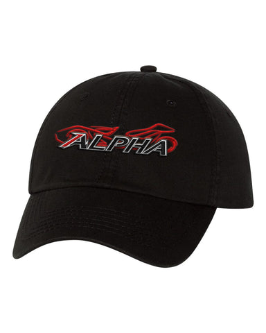 Alpha Powersport Velcro Cap - Alpha Powersport Store