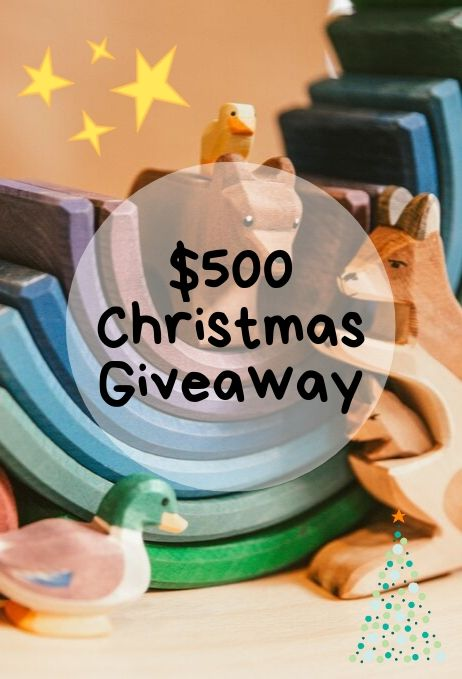 $500 Giveaway, Christmas, Prize, Gift Ideas