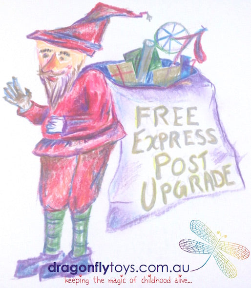 Free Express Post Upgrade till december 23
