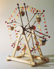 Kraul ferris wheel with 3 dolls kit