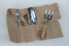 3 tools set with hessian roll