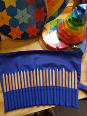 Pencil Roll Holder for 24 Pencils