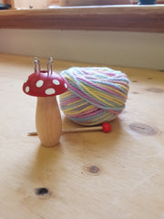 Mushroom and Rainbow Wool Gift Set
