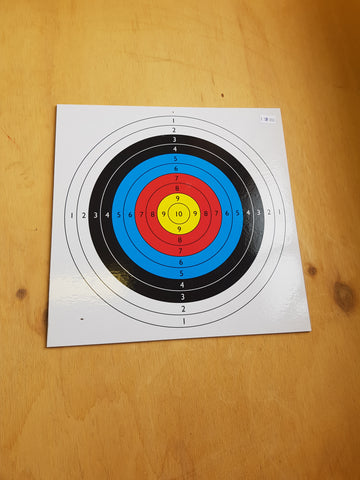 Wooden Target for Bow and Arrow
